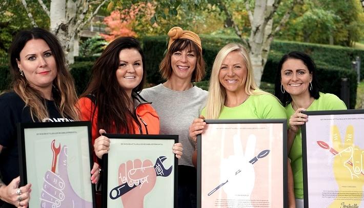 Tre vinnare för ökad jämställdhet i byggbranschen