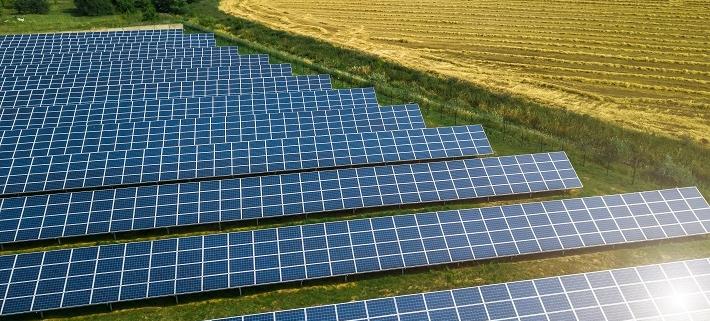 Snart påbörjas bygget av Nordens största solcellspark