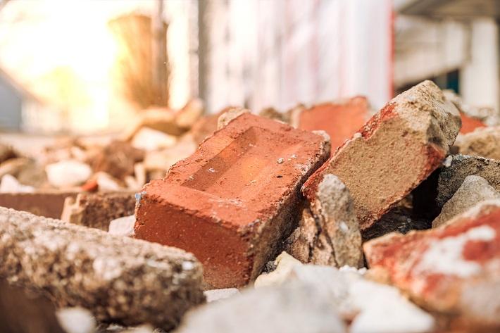 Därför återanvänds inte mer bygg- och rivningsavfall
