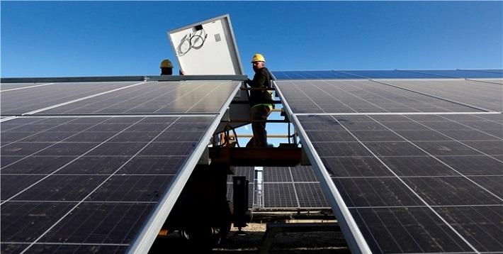 Europas största solcellspark har tagits i drift