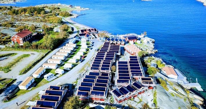 Här finns Sveriges bästa solenergianläggning