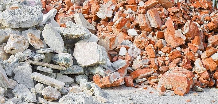 Nya regler för bygg- och rivningsavfall från 1 augusti