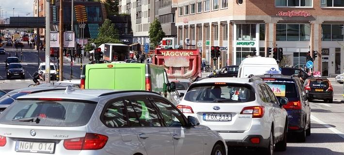 Fortsatt dålig luft i svenska städer