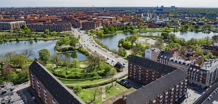 Städerna i Danmark blir både tätare och grönare