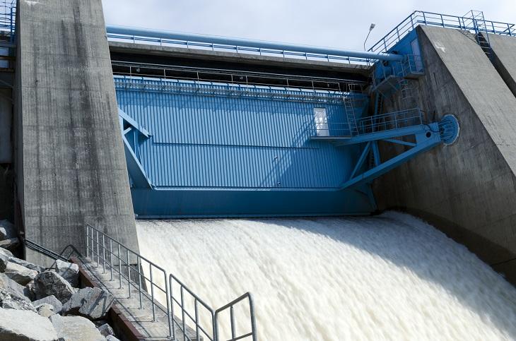 Ökad elproduktion från vatten och vind under 2020