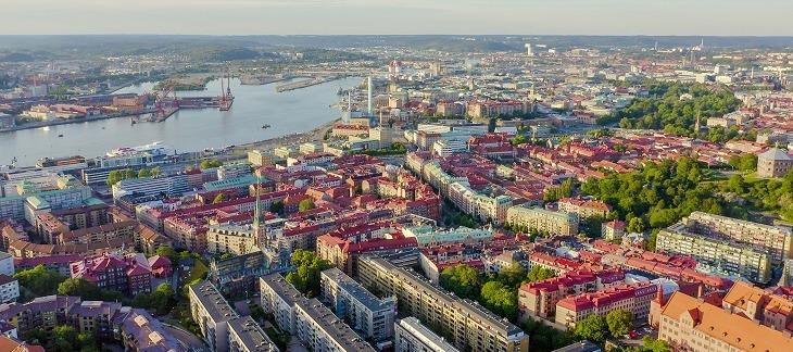 Göteborgs grönområden tappar mark när staden expanderar